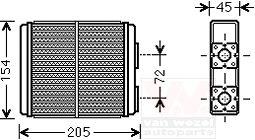опель фронтера радиаторы отопления салона