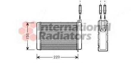 Теплообменник, отопление салонао vw t3 пластинчатый разборный одноходовой теплообменник вт-012-66dn50 характерер